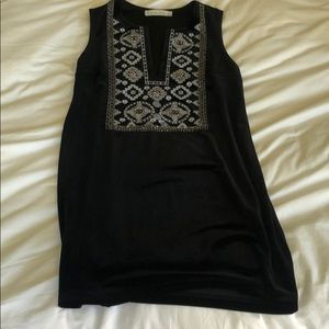 ABERCROMBIE AND FITCH black velvet dress!!